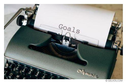Ziele-Schreibmaschine